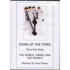 Signs Of The Times In The World, Israel & The Church - Tony Pearce